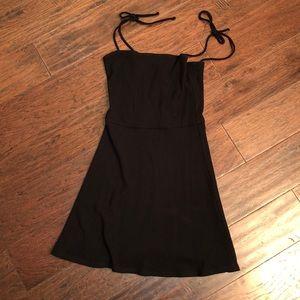 Reformation Black Mini Dress S